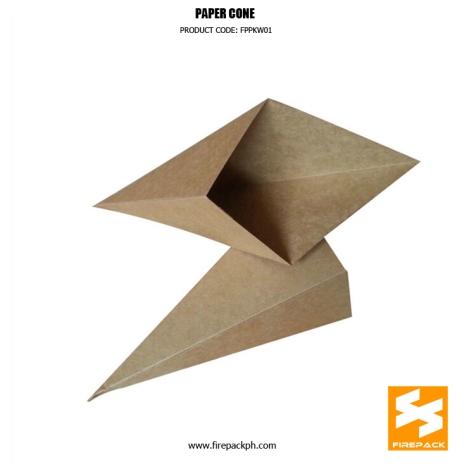 paper cone supplier maker customized firepack manila