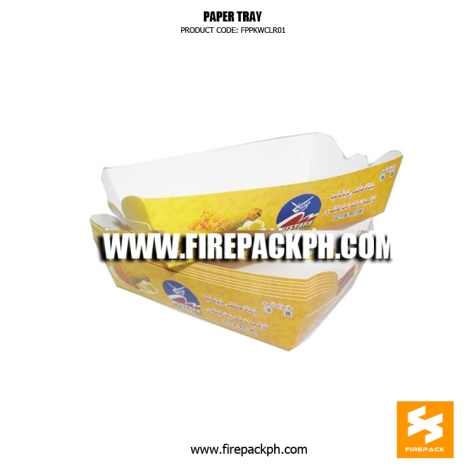 paper try custom print supplier tacos tray