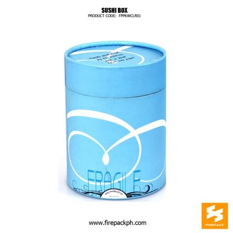 paper tube blue color design supplier manila