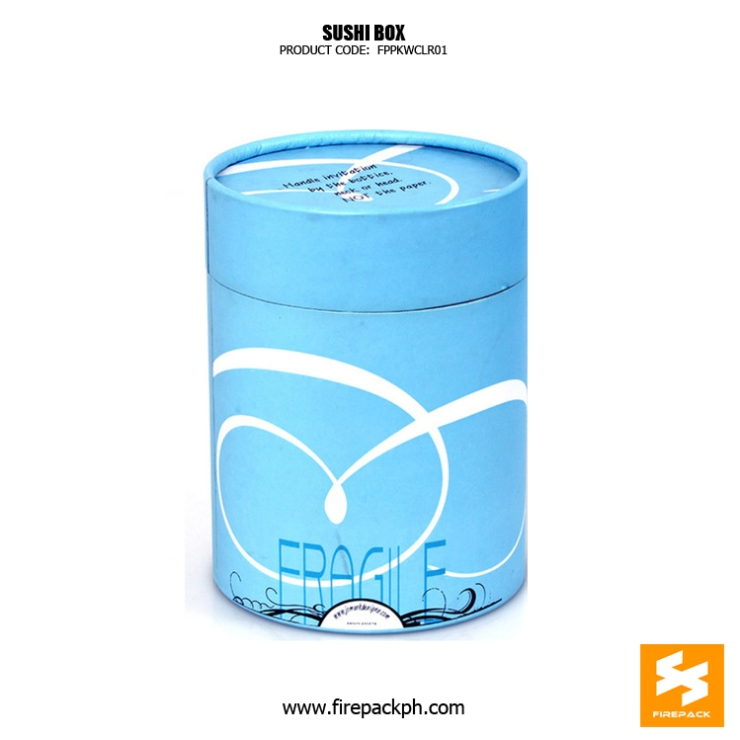 paper tube blue color design supplier manila