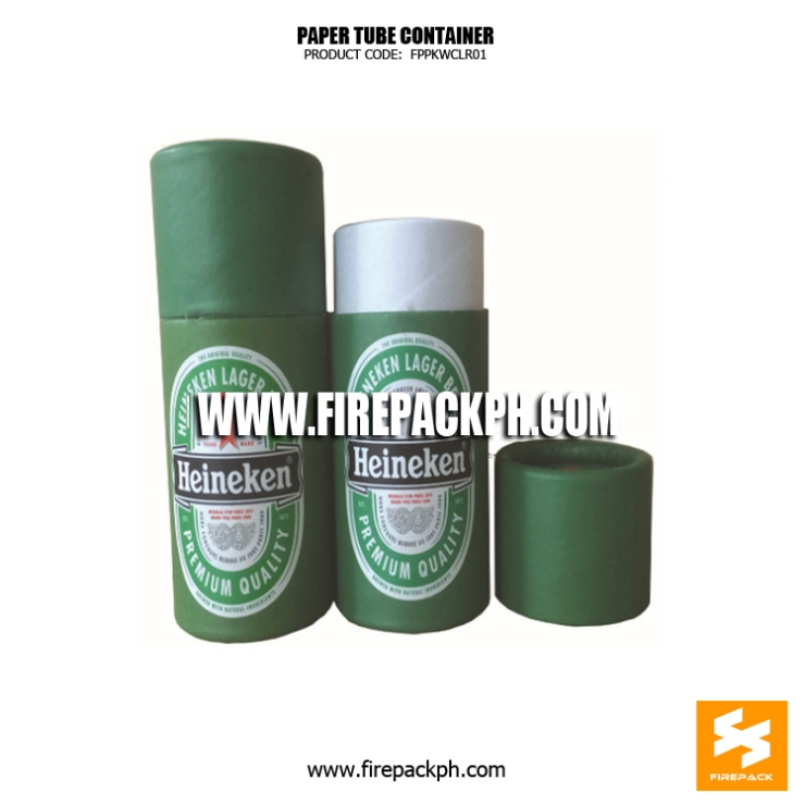 paper tube green color supplier cebu firepack
