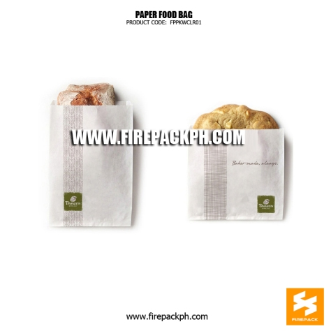 paper wrapper for bread customized