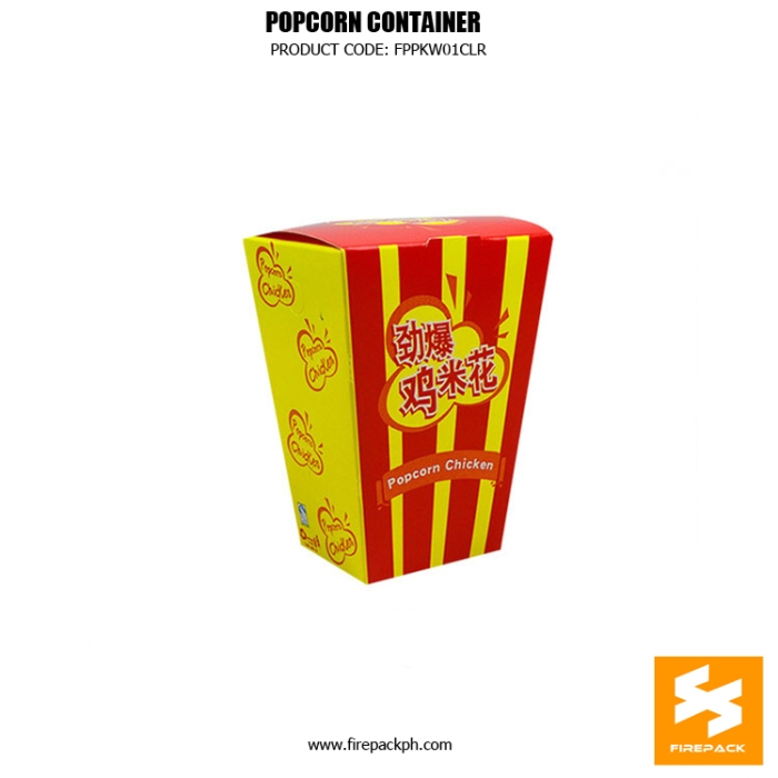 popcorn box maker customized