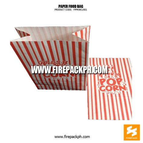 popcorn paper bag customized maker supplier manila