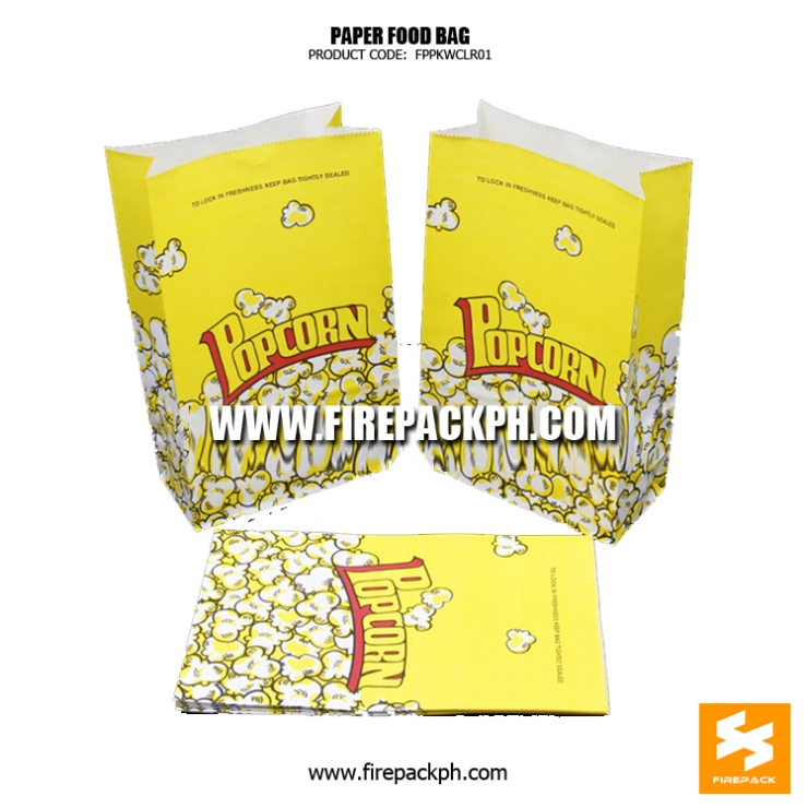 popcorn paper bag supplier cebu