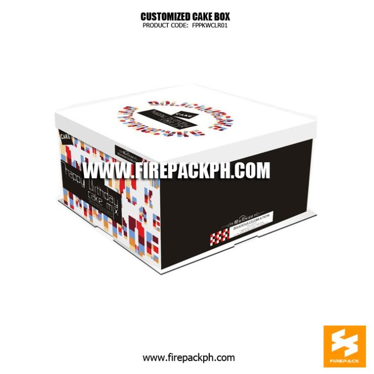 quality cake box maker manila supplier