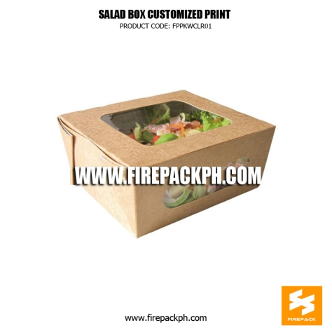 salad box with window maker supplier quezon city