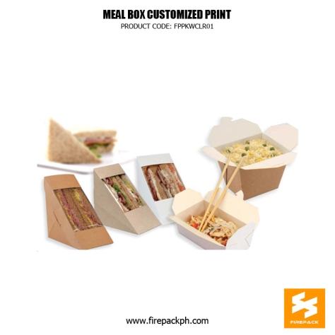 sandwhich box supplier customized