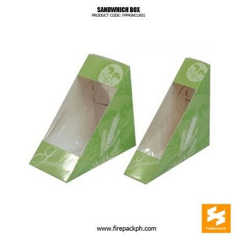 sandwhich box supplier firepack USA supplier