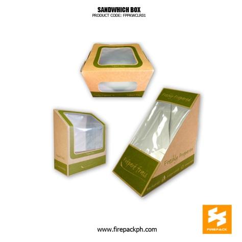 sandwhich box supplier in manila firepack