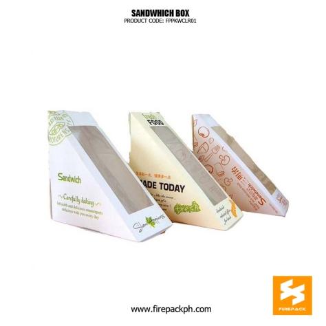 sandwhich box supplier manila firepack china