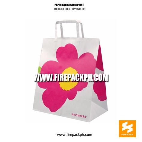 shopping bag paper supplier maker manila