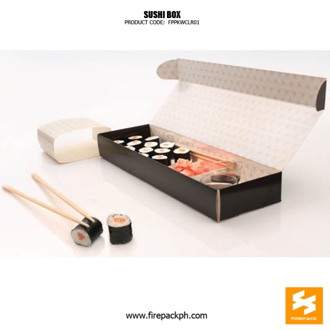 shushi box supplier maker