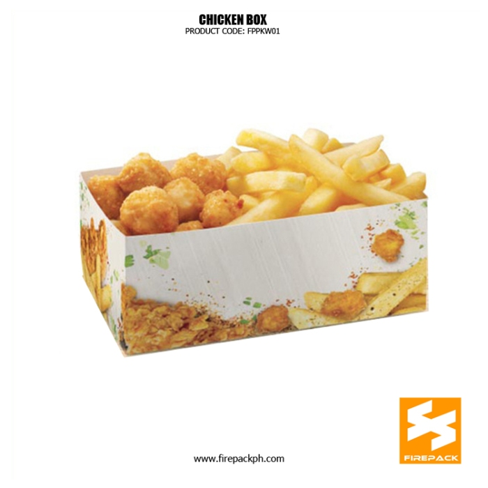 snack box maker for fried chicken firepack manila