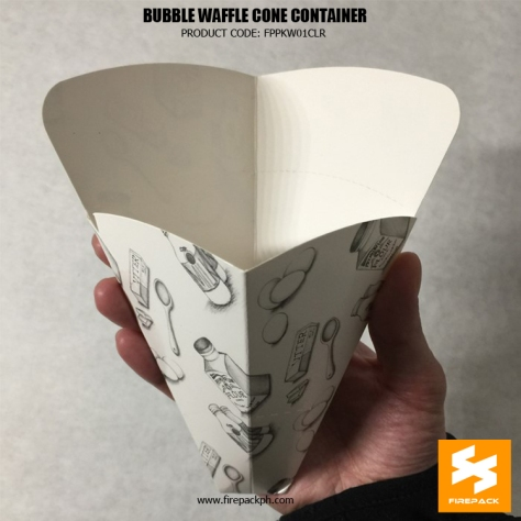 waffle cloud waffle bubble container supplier manila firepack USA supplier