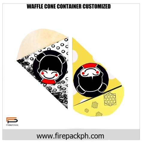 waffle cone container maker firepack'