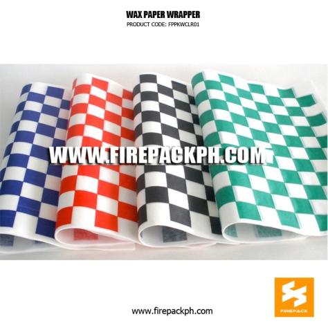 wax paper cebu city supplier