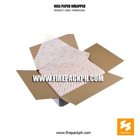 wax paper glassine supplier burger wrapper shawarma wrapper supplier