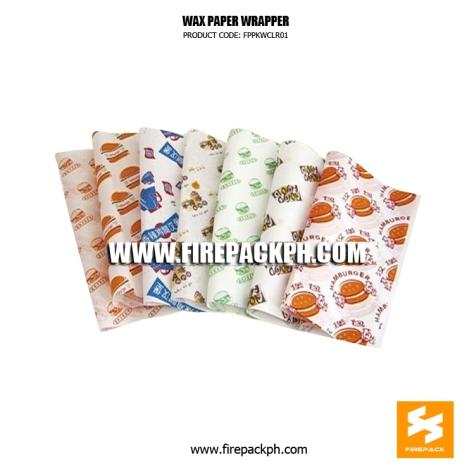 wax paper supplier burger wrapper glassine paper