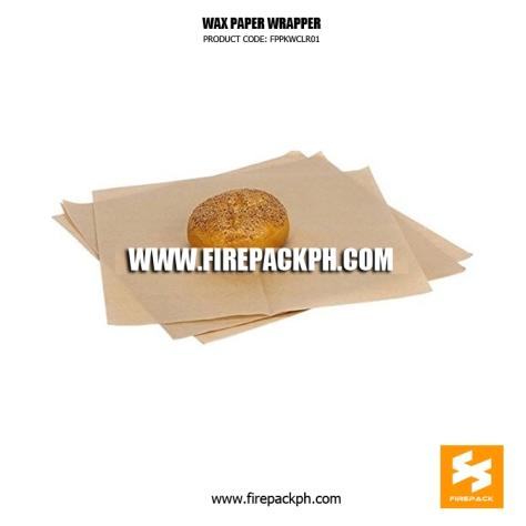 wax paper wrapper supplier manila