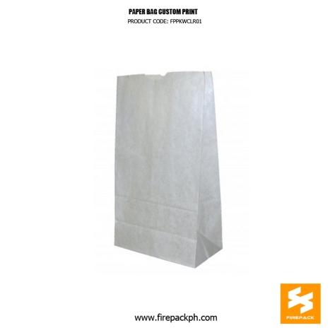 white paper bag custom print supplier manilla cebu