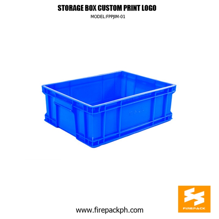 blue storage box supplier