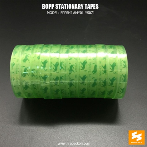 bopp stationary tapes supplier manufacturer manila
