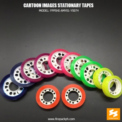 cartoon image stationay tapes