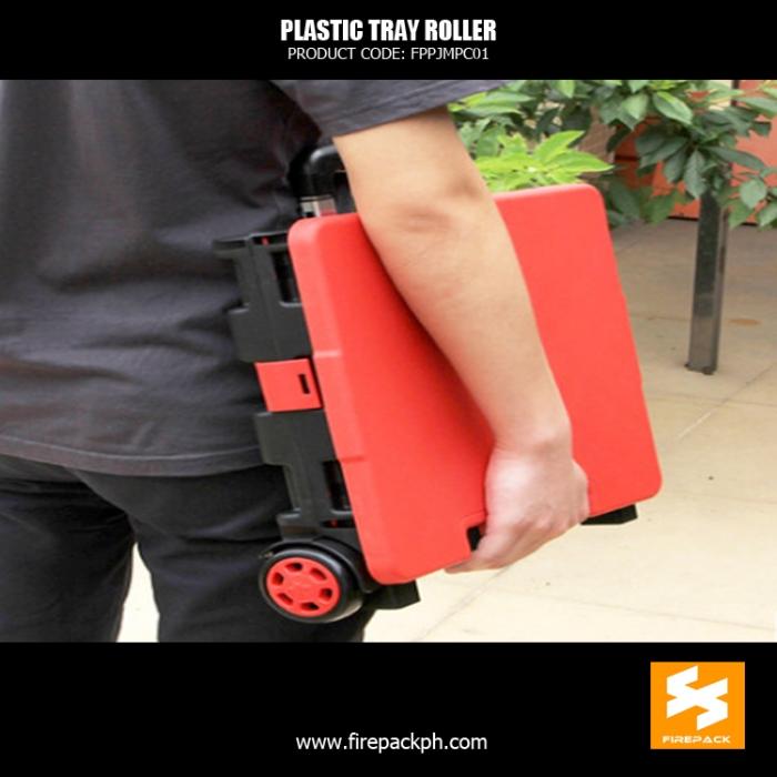 foldabe box roller