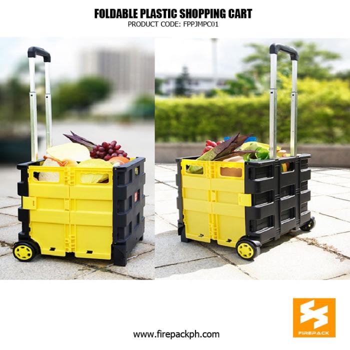 foldable shopping cart supplier maker manila
