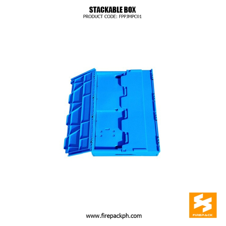 foldable stackable box maker