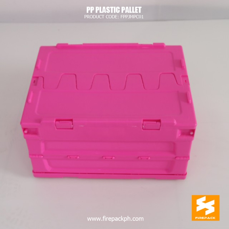 pink foldable box maker supplier