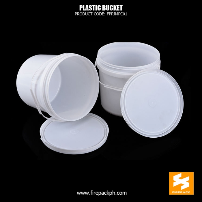 plastic bucket white supplier manila