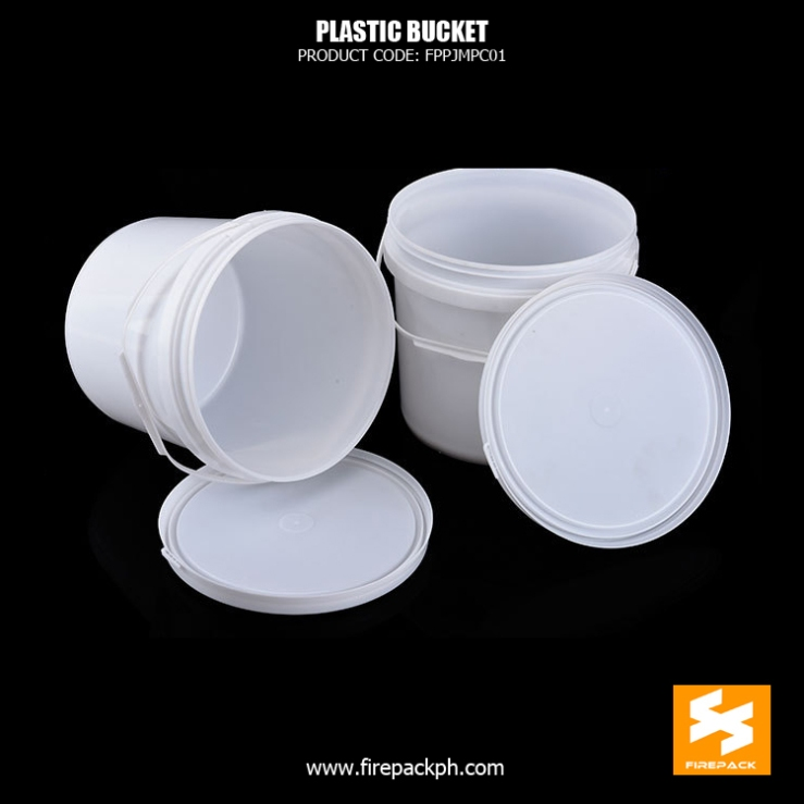 plastic bucket white supplier manila