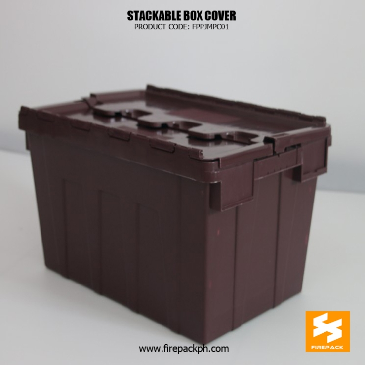 stackable box brown color maker supplier