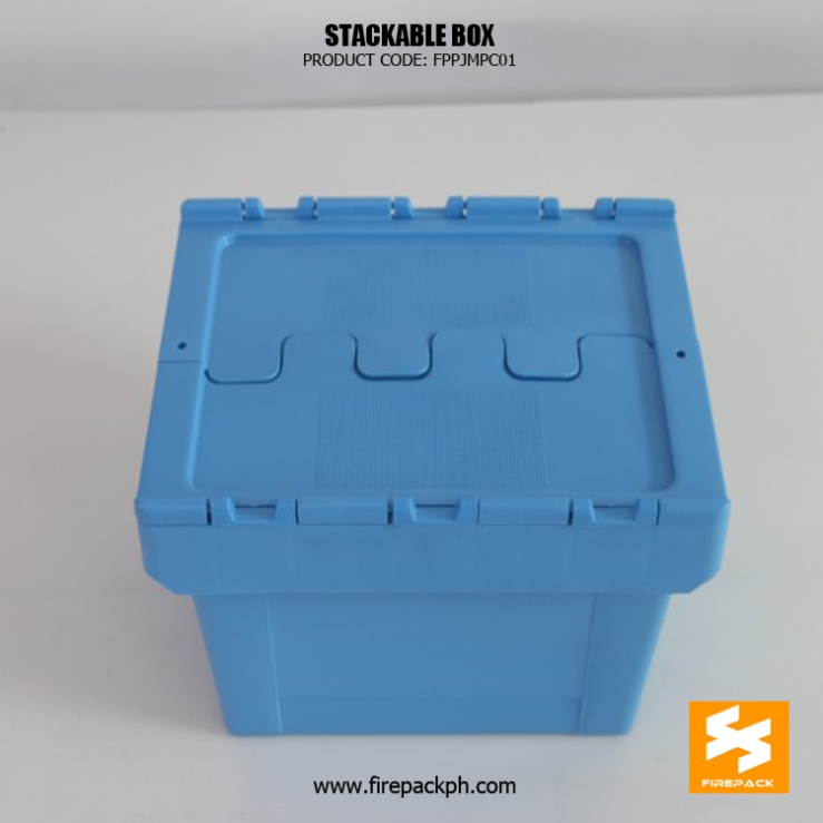 stackable box with cover supplier maker manila