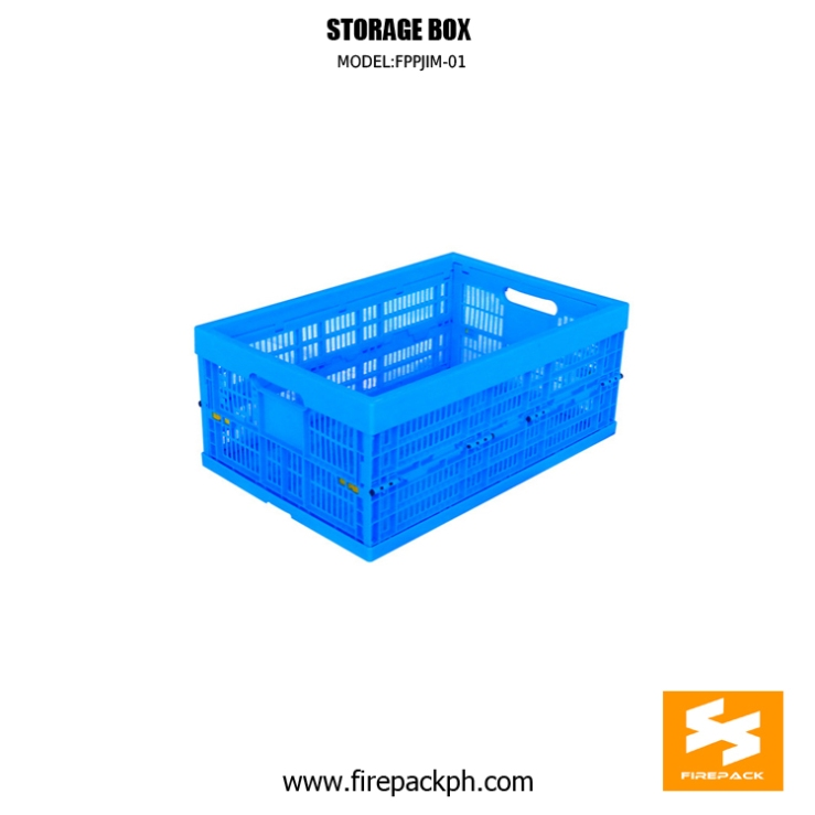 storage box blue color