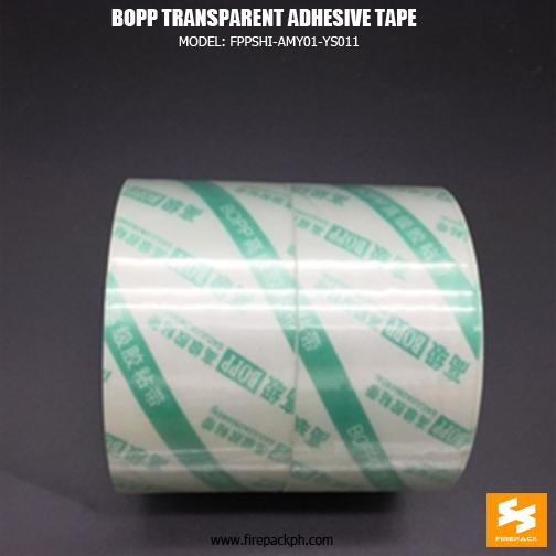 tranparent tape custom print supplier
