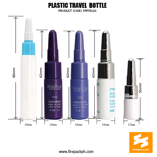 10ml Cosmetic Packaging Plastic HDPE Travel Lotion Containers DETAILS