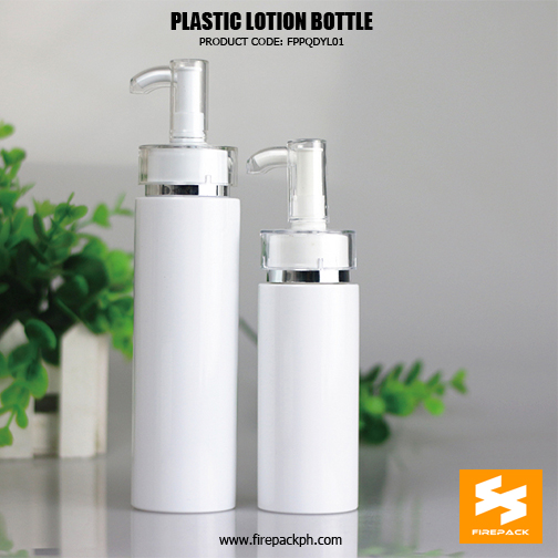 250ml Cosmetic Packaging PET Plastic Pump B4ottles For Lotion sizes