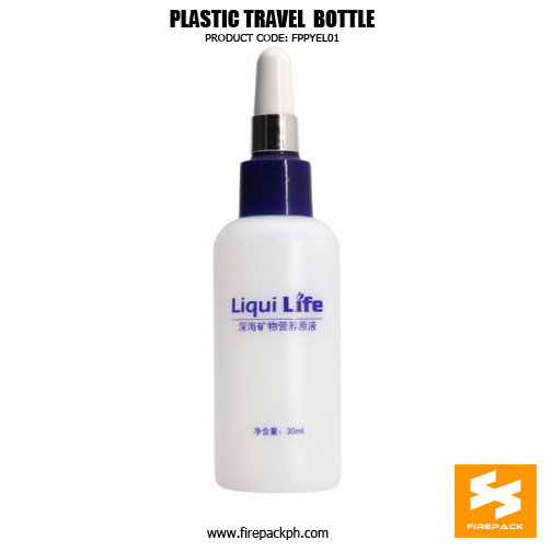 30ml Empty HDPE Plastic Travel Cosmetic Containers