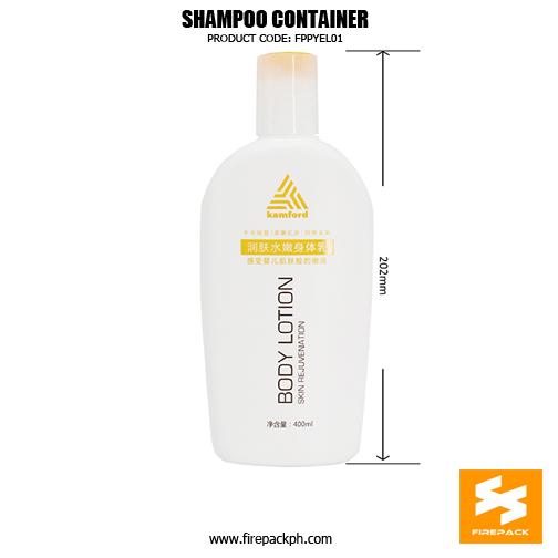 400ml Plastic Shampoo Conditioner Bottles With Flip Top 2