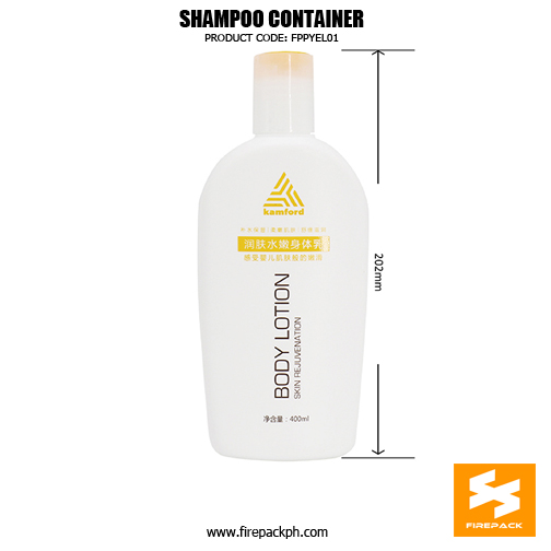 400ml Plastic Shampoo Conditioner Bottles With Flip Top 2