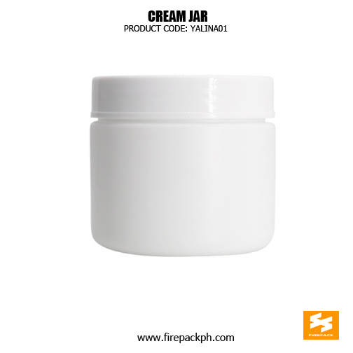 500ml HDPE Round Wide Mouth Plastic Jars With Lids