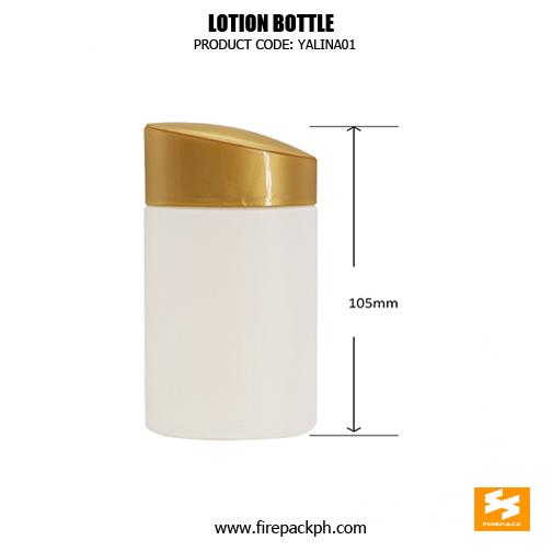 80ml Skincare Packaging HDPE Sun C2ream Fancy Plastic Bottles 1 detaisl