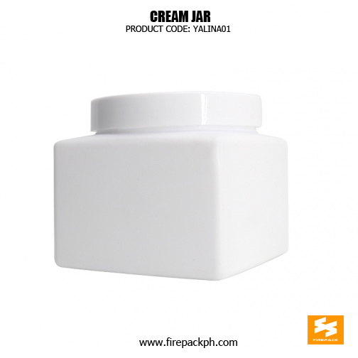 Cosmetic Packaging 500ml Square Empty Plastic Jars 2