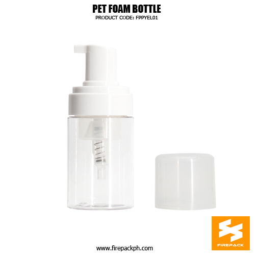Cosmetic Packaging Empty PET Soap Dispenser 2 Bottle sizes