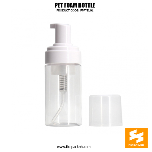 Cosmetic Packaging Empty PET Soap Dispenser Foam Bottle 2