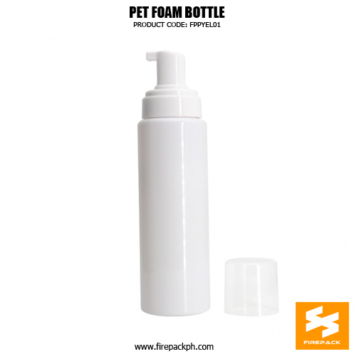 Cosmetic Packaging Empty PET Soap Dispenser Foam Bottle 5