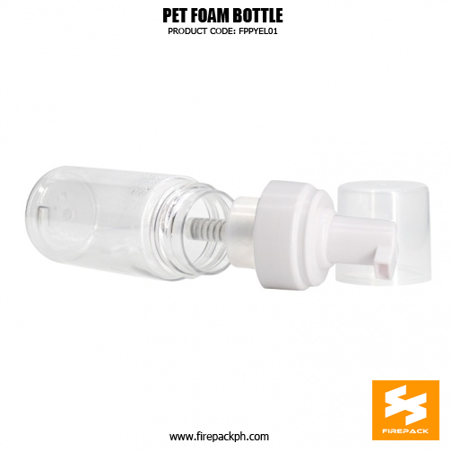 Cosmetic Packaging Empty PET Soap Dispenser Foam Bottle 6